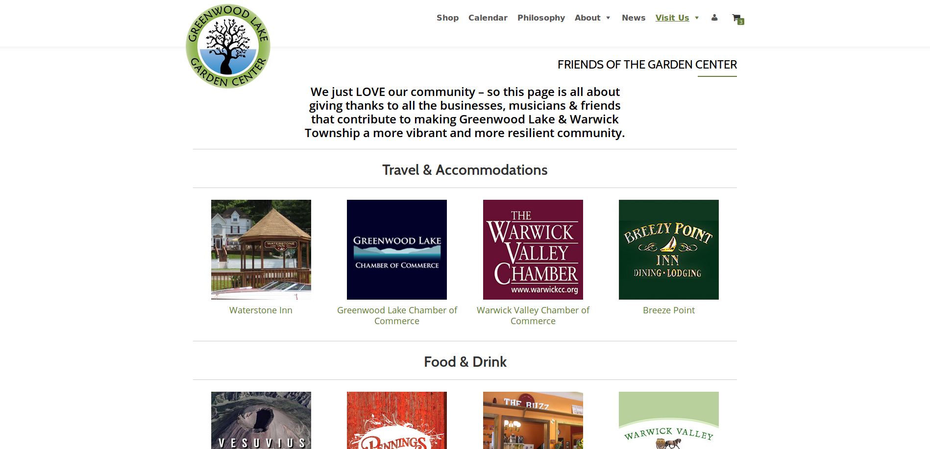 New Website Meet Our Friends Page